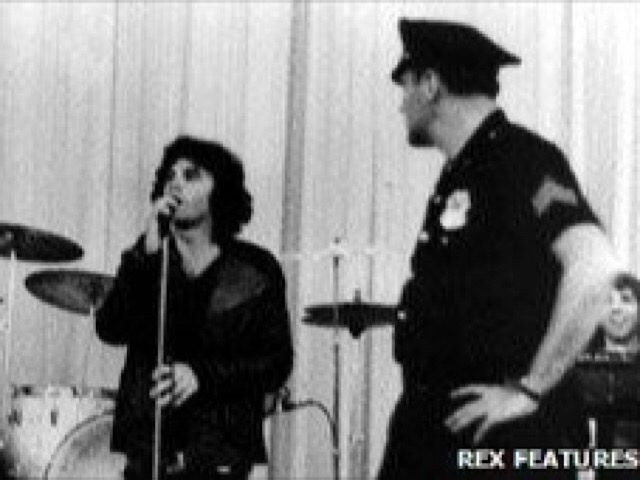 By the time of his 1969 arrest, Morrison's drink- and drug-fuelled behaviour had become notorious
