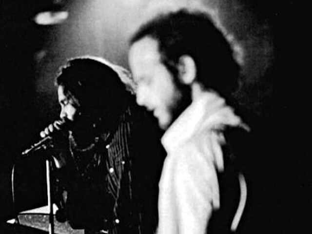 Jim Morrison and Robby Krieger