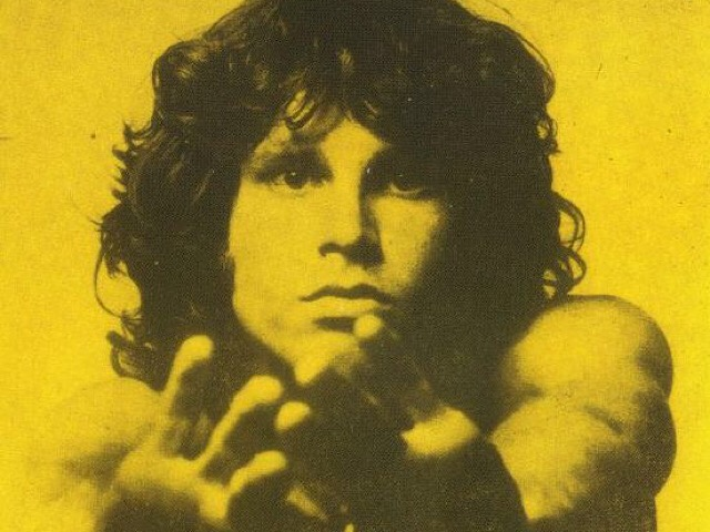 "Jim Morrison, lead singer of The Doors, posed for ""The Young Lion"" (aka ""The American Poet"") session at Joel Brodsky's studio in New York City, New York on September 18, 1967. Photo by Joel Brodsky."