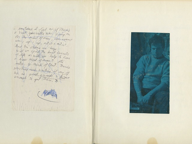 Jim Morrison's notebook is expected to fetch up to $300,000 at auction in Los Angeles Photo: AP