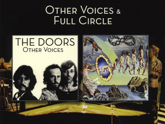 Album covers for Other Voices and Full Circle by The Doors