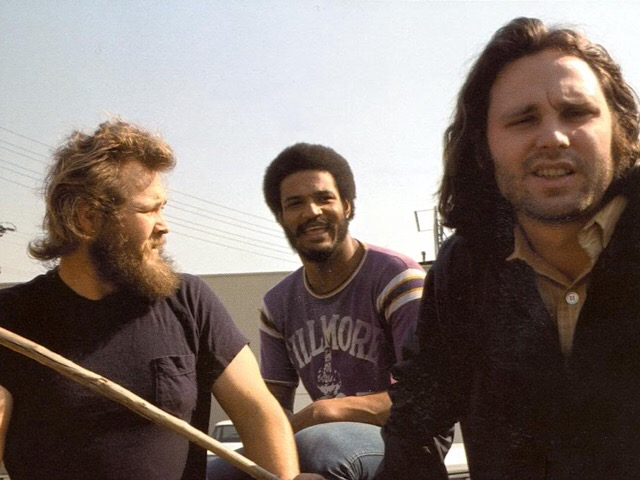Babe Hill, Tony Funches and Jim Morrison (photographer unknown)