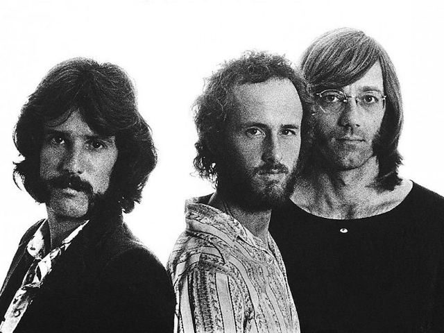 This is the cover art for the album Other Voices by the artist The Doors. Photo by Ron Raffaelli.