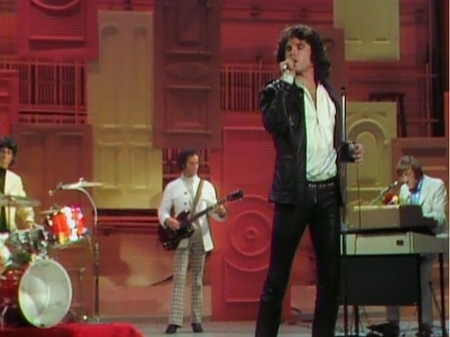 American rock group The Doors appeared on the Ed Sullivan Show at the Ed Sullivan Theater, CBS Studios, in New York City, New York on September 18, 1967.