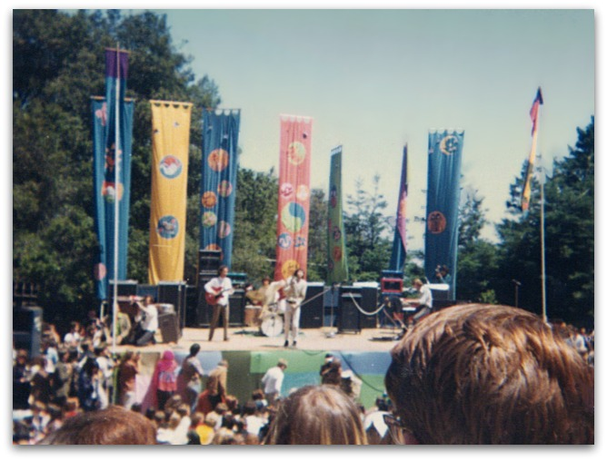 The Doors performing at Fantasy Fair and Magic Mountain Music Festival in 1967.