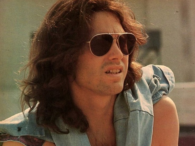 Doors frontman Jim Morrison was photographed in Griffith Park in Los Angeles, CA. Photo by Paul Ferrara.