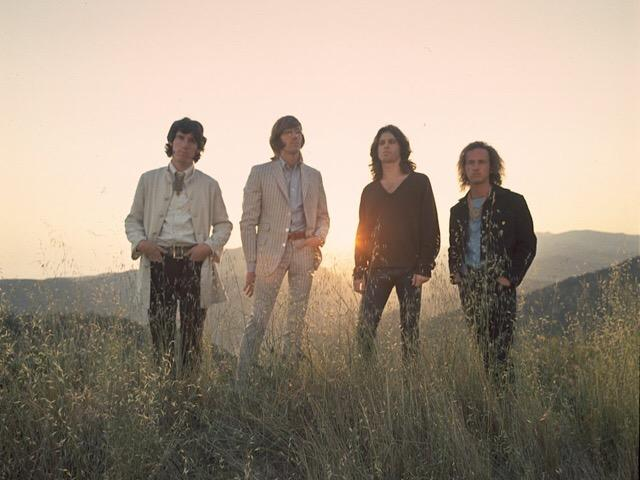 The Doors' photo shoot for the album WAITING FOR THE SUN was shot in Laurel Canyon, Los Angeles, CA. Photo by Paul Ferrara.